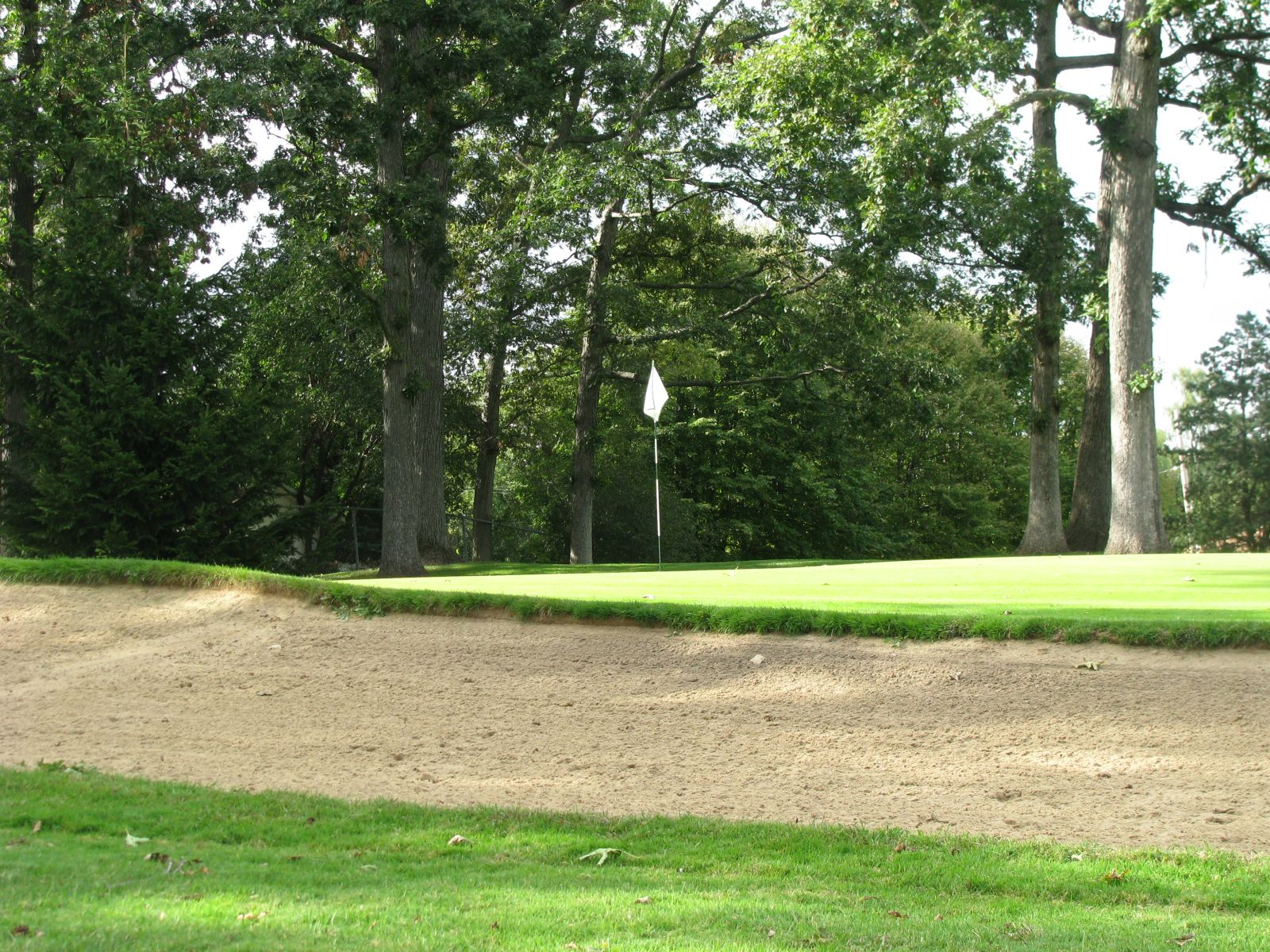 Greenshire Golf Course bunker